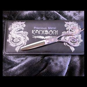 Kamisori Thinning Shears and box